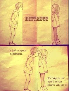 Long distance relationships | love