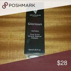 Gift Idea Flash Sale!!?? Younique GLORIOUS primer Brand New glorious face and eye primer. Makes a great gift. younique Makeup Face Primer