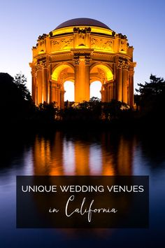 Unique California Wedding Venues
