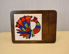 hand made wood and ceramic tile cheese board - Google Search