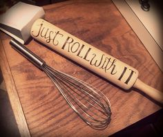 Wood Burned Rolling Pin #woodcraftprojects