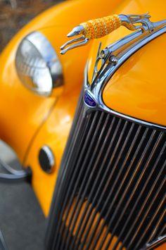 - My old classic car collection Car Hood Ornaments, Greyhound Art, Italian Greyhound, Radiator Cap, Orange Aesthetic, Old Classic Cars, Classic Style, Orange Is The New, Orange Orange