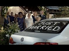 Volkswagen Jetta Wedding Commercial | VW USA This commercial shows a humerous side of being crazy about your car. It shows a couple newly married so it has and shows its target audience. 20-28