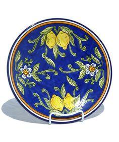 Look at this #zulilyfind! Citronique Round Platter by Le Souk Ceramique #zulilyfinds