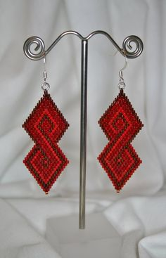 Diamond+Infinity++Shades+of+Red+in+Brick+by+LittleSomething4You,+$35.00