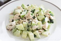 Clean Eating Recipe – Cucumber and Chicken Salad | Weight Loss Meals and Recipes - Clean Eating Recipes