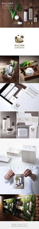 Hilltop Gardens Brand Identity Design on Behance - created via https://pinthemall.net