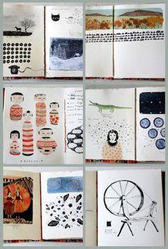 Becca Stadtlander's Sketchbooks