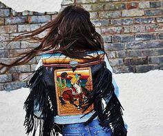 Unique, one of a kind, hand tooled leather creations. Handbags, belts, and jackets customized to fit your personal style. Rodeo Outfits, Country Outfits, Cool Outfits, Cowgirl Chic, Cowgirl Style, Western Style, Rodeo Queen, Denim Ideas, Hippie Gypsy