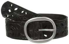 TOPSELLER! Fossil Women's Floral Perforated Belt... $34.00