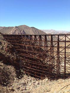 Hiking. Mortero Palms to the Goat Canyon Trestle