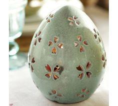 Pierced Ceramic Eggs [potterybarn.com]
