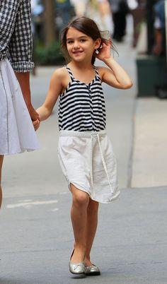 Young Fashionista Suri Cruise  featured fashion children fashion