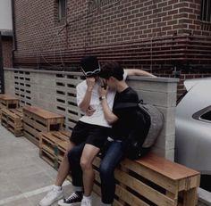 Imagen de couple and asian
