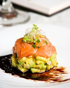 salmon tartar yummss