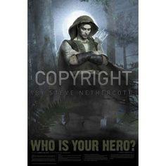 Enos- whose your hero