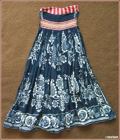 Folk Costume, Costumes, Bobbin Lace, Tie Dye Skirt, Embroidery, Summer Dresses, Skirts, Pattern, How To Wear