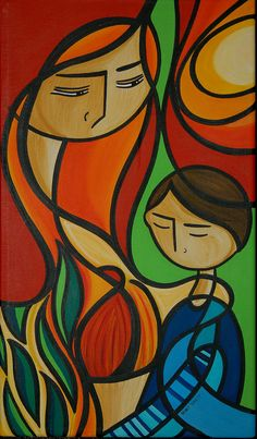Puerto Rico ~ Mary Tere Perez ~ Mother and Son
