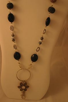 Handmade lanyard necklace The Katherine by by ZannaTigerlilyCrafts