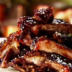 Barbecue Ribs in the Crock Pot - Recipes, Dinner Ideas, Healthy Recipes & Food Guide. So excited to try this! Crock Pot Recipes, Crockpot Dishes, Crock Pot Cooking, Pork Recipes, Slow Cooker Recipes, Cooking Recipes, Healthy Recipes, Crockpot Meals, Gastronomia