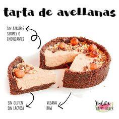 Recetas en una imagen – Violeta Happy Baker Vegan Sweets, Vegan Desserts, Healthy Desserts, Raw Food Recipes, Sweet Recipes, Dessert Recipes, Vegan Milk, Sweet Desserts, Food And Drink