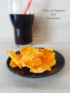 Chips de patate douce au four  | Aux Fourneaux