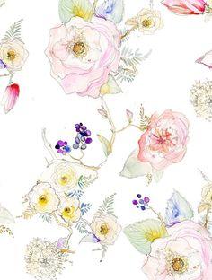 Image of Floral Vine 8x10 Signed Print