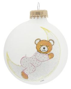 Baby Bear on Moon Pink - http://www.247babygifts.net/baby-bear-on-moon-pink-2/