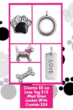 Whoo Loves Dogs?  Show The Love With A Fab Locket!