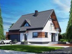 Projekt domu jednorodzinnego LOLEK N 2G - wizualizacja 2