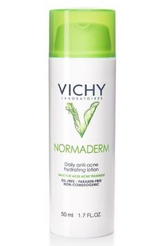 This lightweight moisturizer targets large pores, blemishes, and scars using a blend of chemical exfoliants that work in tandem to improve skin texture.Vichy Normaderm Daily Anti-Acne Hydrating Lotion, $25, available at Vichy. #refinery29 http://www.refinery29.com/french-beauty-products#slide-3