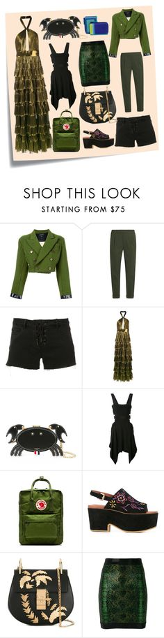 """Sexy Girls Fashion"" by cate-jennifer ❤ liked on Polyvore featuring Post-It, Jean-Paul Gaultier, Vince, Paige Denim, Elie Saab, Thom Browne, Isabel Marant, Fjällräven, See by Chloé and Balmain"