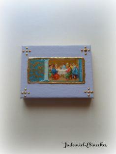 """Mini toile décorative série """" Les religieuses """" n°8 : Accessoires de maison par jademiel-etincelles"""
