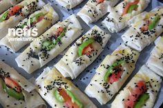 Peynirli Karnıyarık Börek 1 Sushi, Pasta, Ethnic Recipes, Food, Essen, Meals, Yemek, Eten, Sushi Rolls