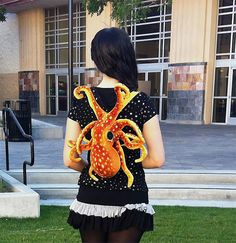Der Octopus Backpack on http://www.drlima.net