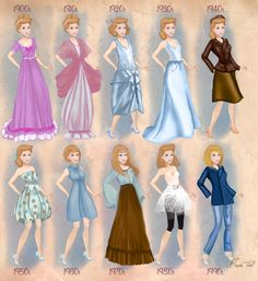 cinderella in 20th century fashion #cinderella #disneyprincess #disney