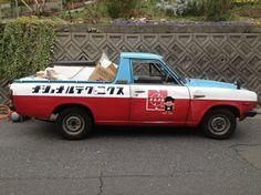 レトロ系(@retoro_mode)さん | Twitter Small Trucks, Mini Trucks, Old Trucks, Pickup Trucks, Commercial Van, Commercial Vehicle, Retro Cars, Vintage Cars, Cute Cars