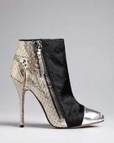 Jean-Michel Cazabat Booties - Zoulu High Heel - Boots by Janny Dangerous