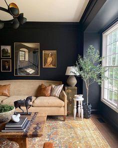 Home Living Room, Living Room Designs, Living Room Decor, Living Spaces, Living Area, Living Room Inspiration, Interior Design Inspiration, Deco Design, Home Fashion