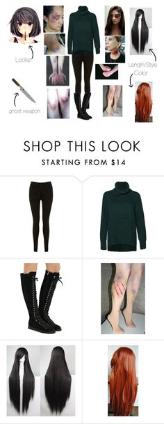 """""""Karry the Ghost"""" by andie-leigh-13 ❤ liked on Polyvore featuring Miss Selfridge, Dex, Alexander Wang and Shun"""