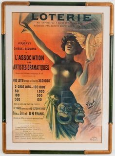 FRENCH LOTTERY POSTER