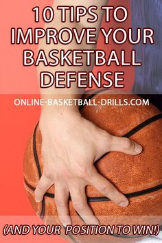 Today, we are talking about basketball defense, blocking out, and some tips to improve your basketball defense, and put you in the position to win! #basketballdrillsshooting