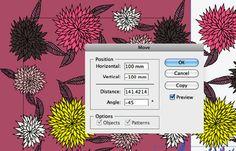 Creating repeat patterns in illustrator.