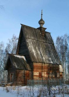 Russian Wooden church Photo by: musatych - Flickr (CC)