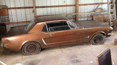 In A Barn For 30 Years: 1965 Mustang - http://barnfinds.com/in-a-barn-for-30-years-1965-mustang/