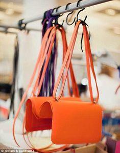 How a Hermès handbag is made  Photographs reveal French fashion house s  design secrets 70dcda0dc7d1f