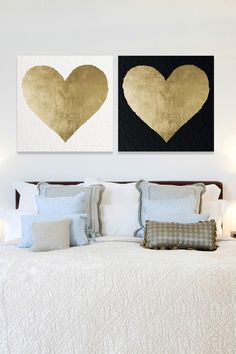 Forever & Ever Canvas Art 2-Piece Set by Oliver Gal Gallery on @HauteLook