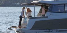 Cruising, relaxing, or entertaining, the Jeanneau NC9 has the room and the style.