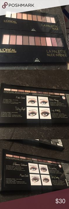 Loreal 2 pack nude palette NWT. Brand new. Never opened or used. Bundles of 4 are 30 percent off. Bundle and save!  Free gift with every purchase. Feel free to make an offer. Happy shopping Poshers!!! loreal Makeup Eyeshadow