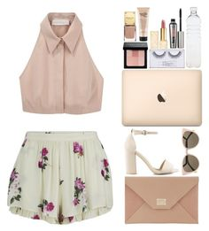 """lush life"" by nahtural ❤ liked on Polyvore featuring MINKPINK, Cacharel, Nly Shoes, Jimmy Choo, Fendi, Bobbi Brown Cosmetics, Tory Burch, philosophy, Sonia Kashuk and Benefit"